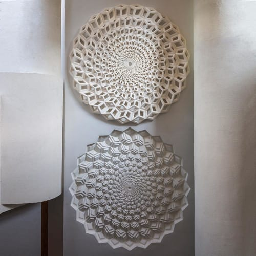 Sculptures by Fernando Mastrangelo seen at Private Residence, New York - Spiral