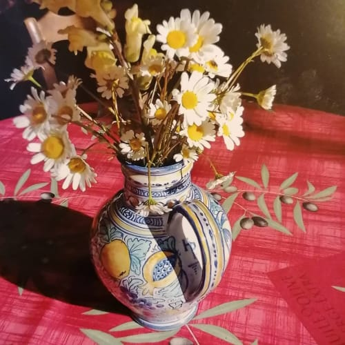 Tableware by Pottery Paintress seen at Private Residence - Maiolica jug