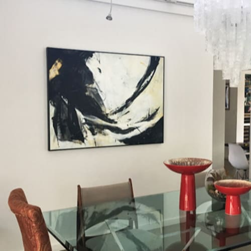 Paintings by Lynette Melnyk seen at Private Residence, Palm Springs - The Beginning is Always Today