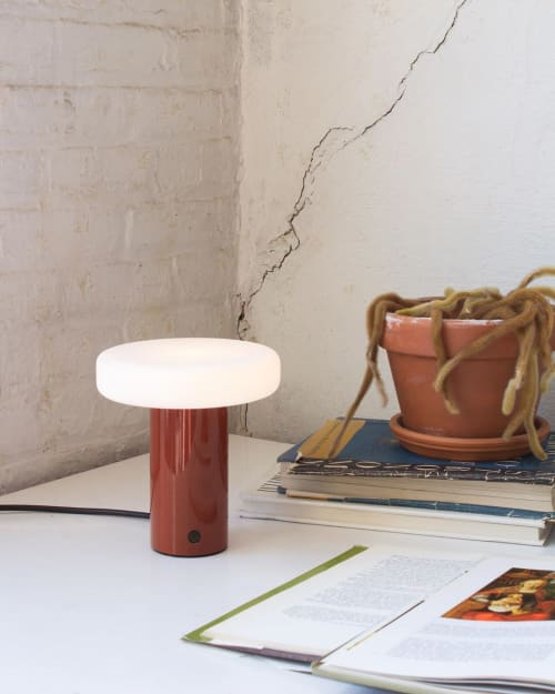 Lamps by In Common With seen at Private Residence, Brooklyn - Puck Table Lamp
