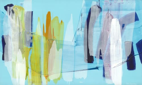 Paintings by Claire Desjardins seen at Creator's Studio, Gore - Clear as Day