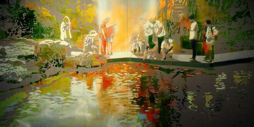 Zsombor Barakonyi - Paintings and Art
