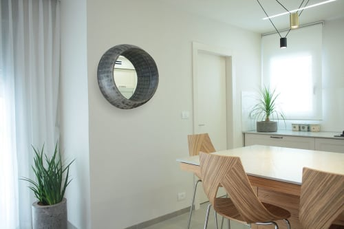 Wall Hangings by Linski Design - Concrete Art seen at Private Residence - Sub Mirror