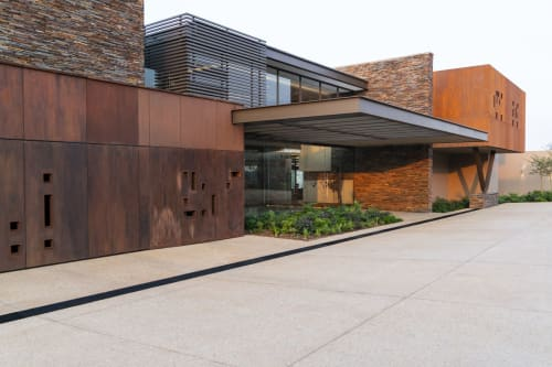Architecture by Nico van der Meulen Architects seen at Mooikloof Estate, Pretoria - House in Mooikloof