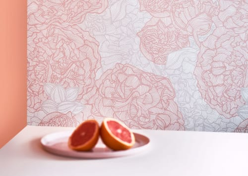 Wallpaper by Patricia Braune seen at Sydney, Sydney - Amalfi Lines Collection