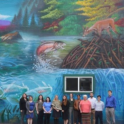 """Street Murals by VELA ART seen at Corvallis, Corvallis - """"Oh Dear"""" Mural"""