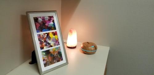 Paintings by Andrea Lamarsaude seen at Bryan texas, Bryan - Storm Infused