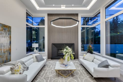 Chandeliers by Karice seen at Vancouver, Vancouver - Diamond Luxennea