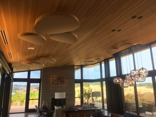 Art & Wall Decor by Studio Lilica at Law Estate Wines, Paso Robles - Dune Acoustic Panel