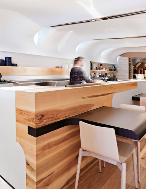 Interior Design by PARTISANS seen at Quetzal, Toronto - Interior Design
