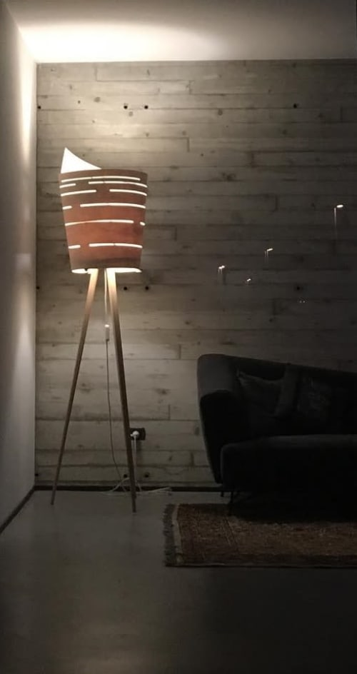 Lamps by Umberto Dattola seen at Private Residence - Silent Lamp