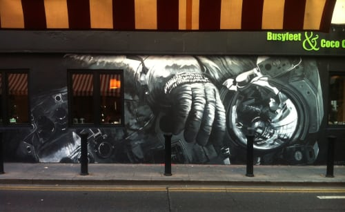 Shane Sutton - Murals and Street Murals