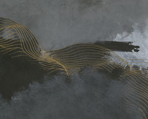 """Paintings by Tracie Cheng seen at Creator's Studio, New Haven - """"Endurance"""" limited edition print on paper by Tracie Cheng"""