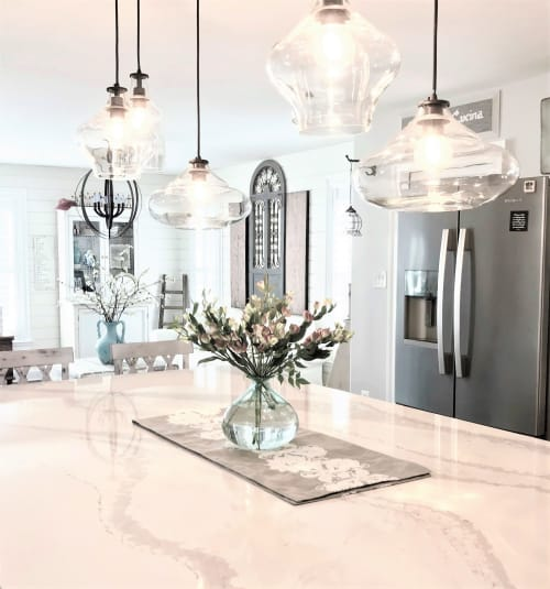 Pendants by Pottery Barn seen at Private Residence, Forest Hill, Forest Hill - Pendants