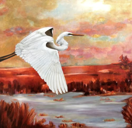 Paintings by Lucie Leduc seen at Montreal, Montreal - Plenitude
