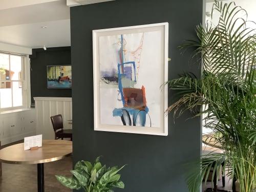 Art Curation by Karen Stamper seen at Last Wine Bar & Restaurant, Norwich - Last Wine Bar
