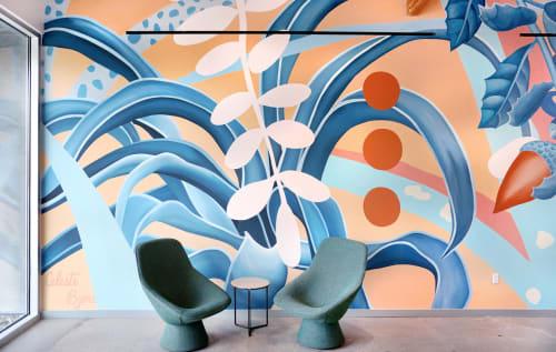 Celeste Byers - Murals and Street Murals