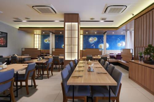 Interior Design by studio.talk seen at HANAGUNI Japanese Cuisine - HANAGUNI Japanese Cuisine