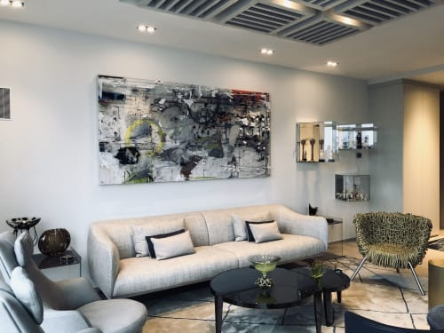 Art Curation by Gregory Watin - KahnGallery seen at Private Residence, New York - Big Flow