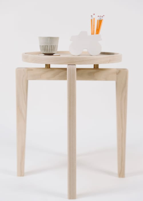 Tables by Lahoma seen at Bay Area Made x Wescover 2019 Design Showcase, Alameda - End Table