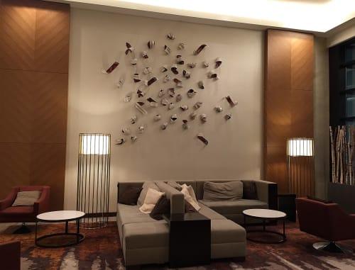 Sculptures by Jennifer Falck Linssen seen at Grand Hyatt Denver, Denver - Metamorphosis
