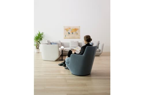 Chairs by Niels Bendtsen seen at Private Residence, Vancouver - U Turn swivel Chair
