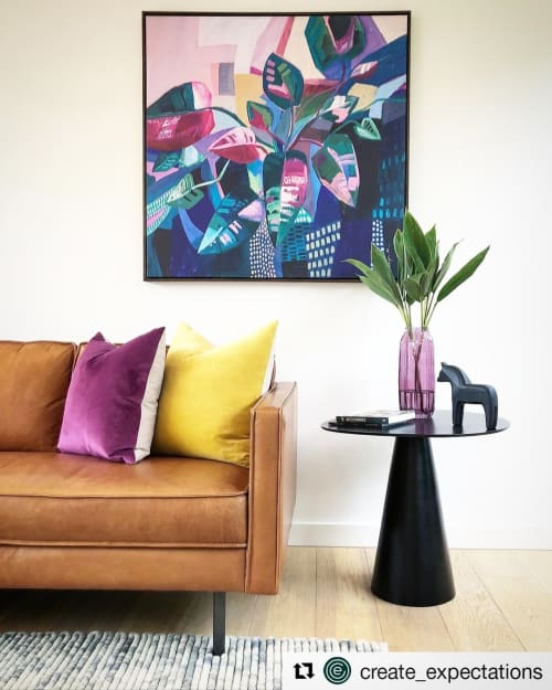 Paintings by Amy Kim seen at Private Residence, Melbourne - Hazy