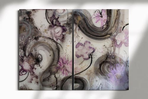 Paintings by Amanda M Moody seen at Private Residence, St. George - marionette