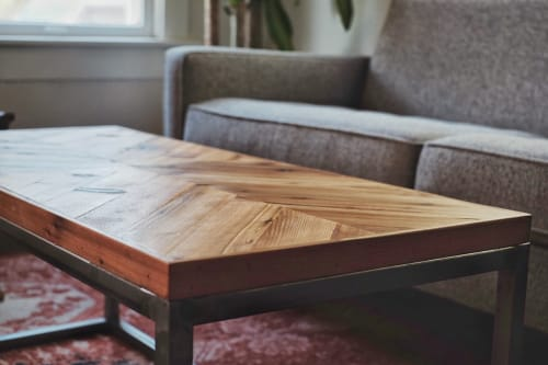 Tables by Growler Domestics seen at Private Residence, Austin - Slayton Coffee Table