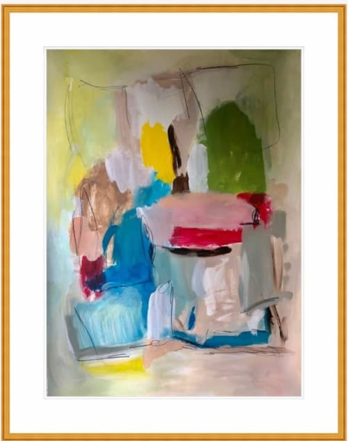 """Paintings by Erin Donahue Tice Fine Art seen at Private Residence, Austin - """"I'll Have an Old Fashioned I & II"""""""