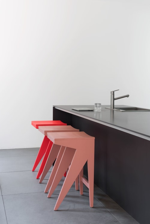 Chairs by OUT Objekte Unserer Tage seen at 40 Walker St, New York - OUT SCHULZ Bar Stool