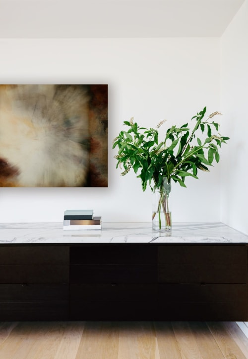 Art & Wall Decor by Angela Licciardi Art seen at Private Residence, Melbourne - Permission For Space - Fine Art Digital Print