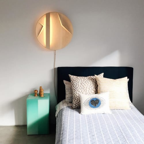 Sconces by ART & GUILE at Private Residence, Brooklyn - Barkhan Sculptural Sconce