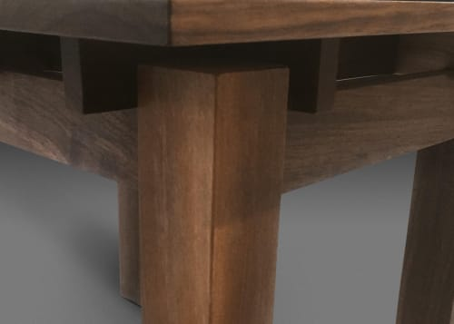 Interior Design by Craig MackIntosh Design seen at Private Residence, Vancouver - Walnut End Table