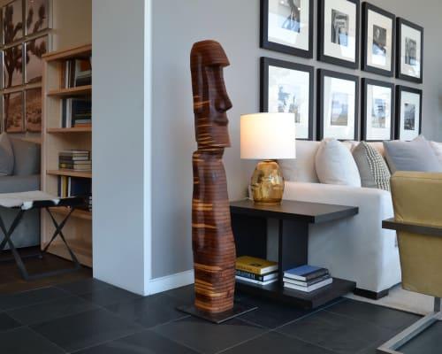 Sculptures by Lutz Hornischer - Sculptures & Wood Art seen at Room & Board, San Francisco - Floor Sculpture