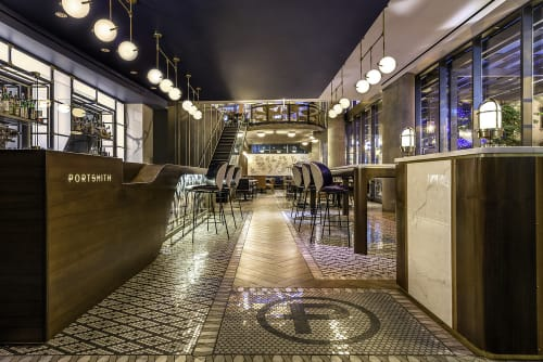Portsmith, Restaurants, Interior Design