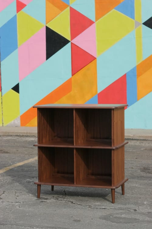 Furniture by Long Grain Furniture seen at Private Residence, Omaha - Josephine Record Storage Cabinet