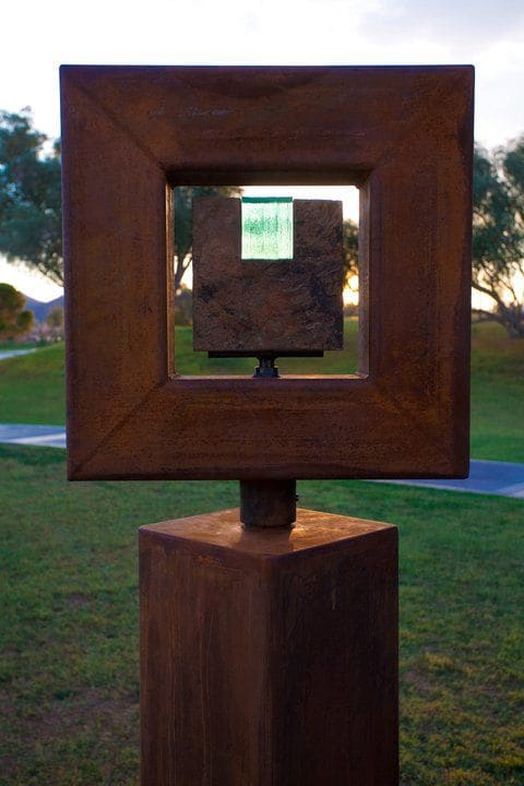 Public Sculptures by Brian Schader seen at Private Residence, New York - Unity