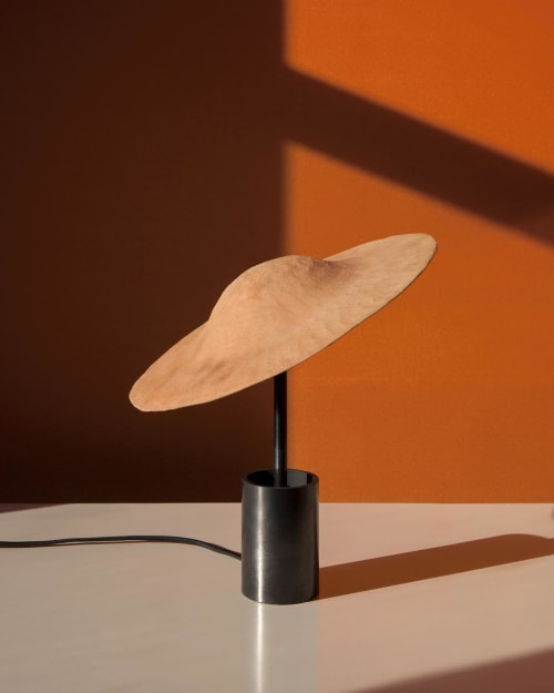 Lamps by In Common With seen at In Common With Studio, New York - Ceramic Table Lamp