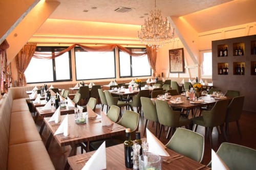Chairs by Anesis, Comfortable Designs seen at Panorama-Restaurant, Ilshofen - Dining Chairs