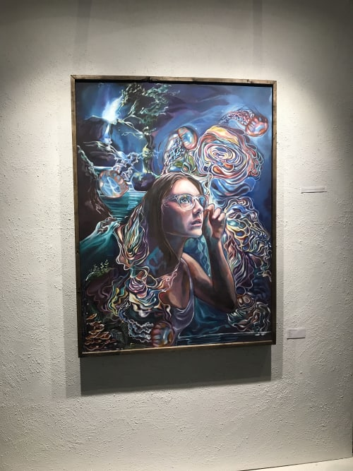 Paintings by Brook Ramsey's Art seen at 1 Independent Dr, Jacksonville - Realm of Creation