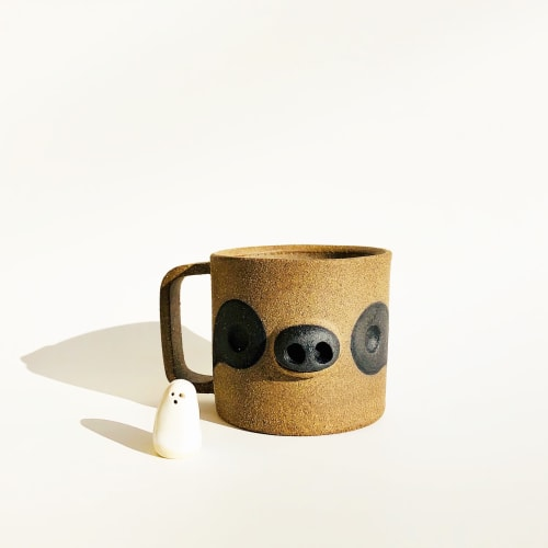 Cups by Holly Coley Designs seen at San Francisco, San Francisco - Stoneware Sloth mugs