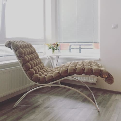 Chairs by Linda Vrňáková at Private Residence, Prague - Lounge Chair