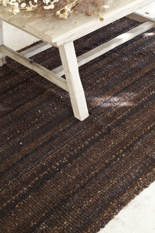 Rugs by AWANAY seen at Private Residence, Buenos Aires Province - CHOCOLATE RUG