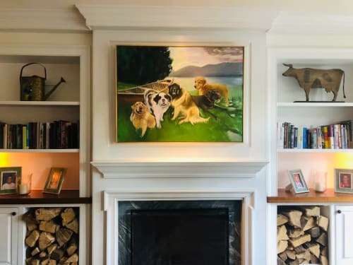 Paintings by Mary Sinner Art seen at Private Residence - Mary Sinner