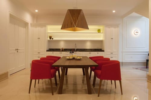 Pendants by Cerno seen at Private Residence, Dongguan - Calx Pendant