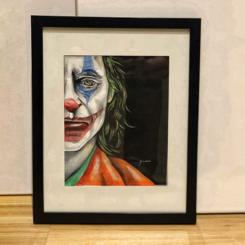 Paintings by Vmixo seen at Baltimore, Baltimore - The Joker
