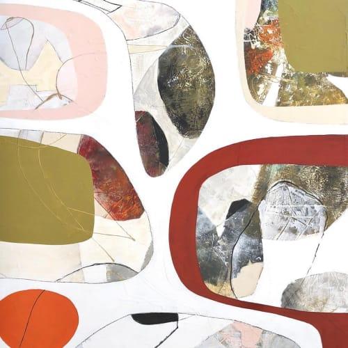 Paintings by TS ModernArt Studio seen at Private Residence, Manhattan Beach - Modern Nature