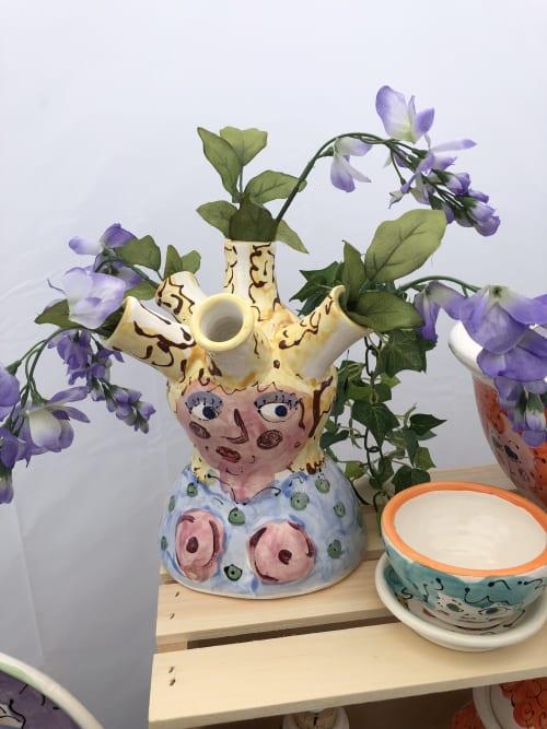 Tableware by Albert L'Etoile seen at Private Residence, Scottsdale - Medusa Braid Vase