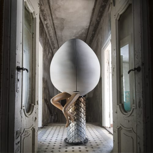 Furniture by Egle Mieliauskiene seen at Private Residence - 'Inception' Cabinet